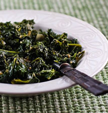 Sauteed Kale with Garlic and Onion