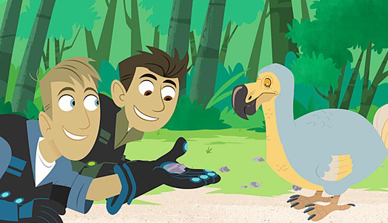 The Wild Kratts meet a dodo.