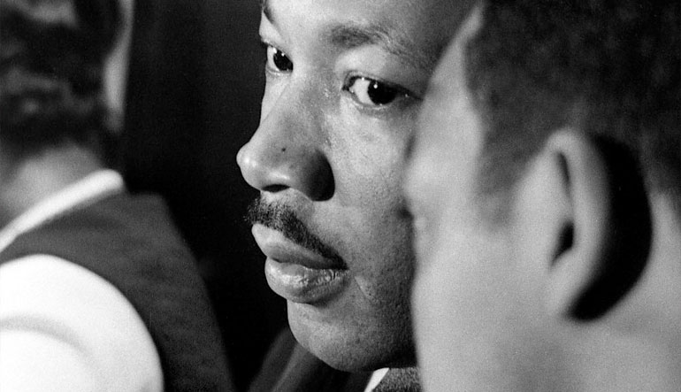 The Rev. Martin Luther King in Chicago