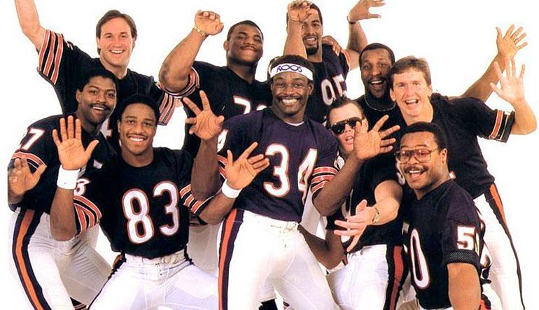 The 1985 Chicago Bears Shufflin' Crew.