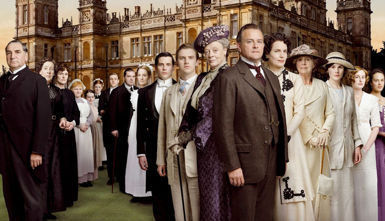 Downton Abbey cast, Season 1.