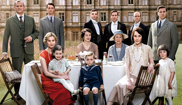 The Downton family.