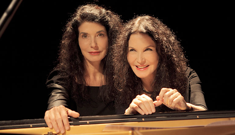 Marielle and Katia Labeque
