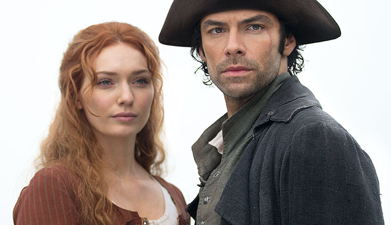 Demelza and Ross.