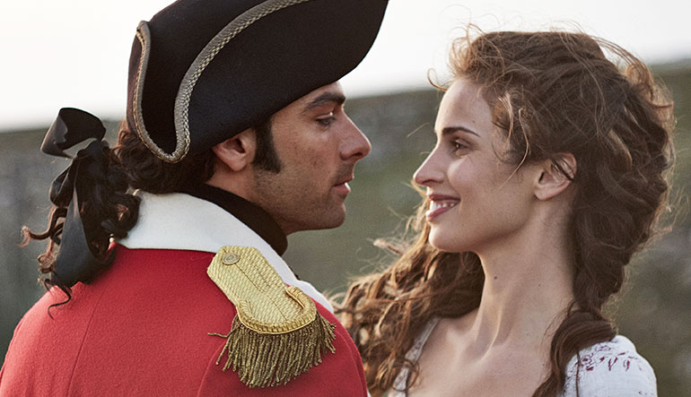 Ross Poldark and Elizabeth