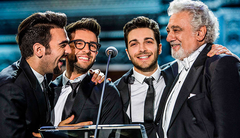 Il Volo with Placido Domingo.