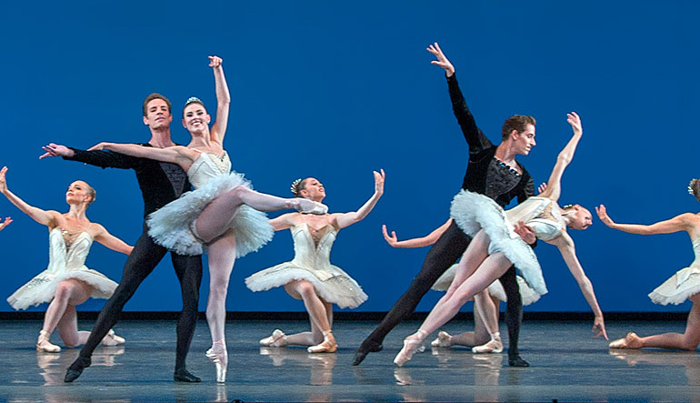 """Symphony in C"" from Great Performances: New York City Ballet Symphony in C."