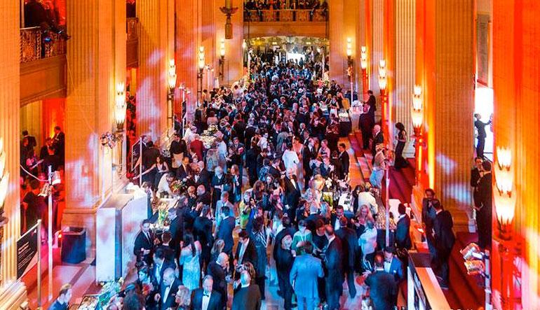 Crowd at James Beard Awards