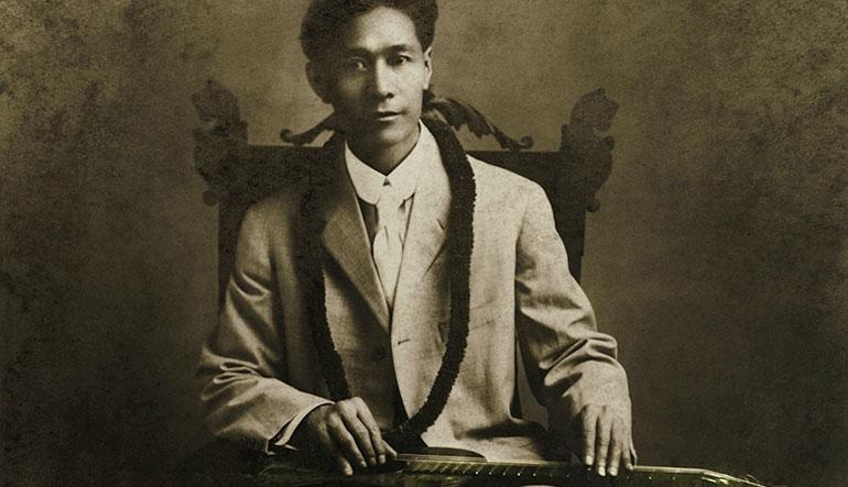Joseph Kekuku inventor of the Hawaiian Steel Guitar