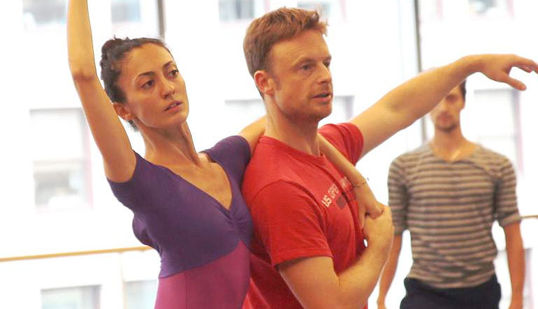 Christopher Wheeldon, Victoria Jaiani, and Temur Suluashvili.