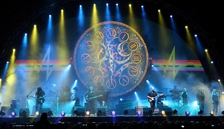 Brit Floyd performing.