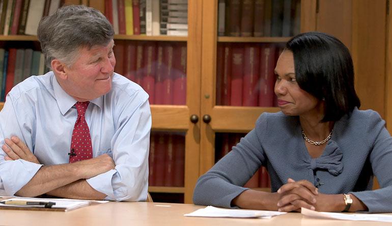 Condoleezza Rice and David M. Kennedy