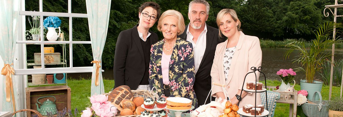 Sue Perkins, Mary Berry, Paul Hollywood and Mel Giedroyc.