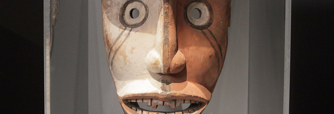 Fang Mask from New Guinea, People of Gabon (19th century) – British Museum, London.