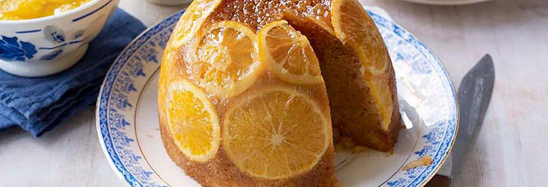 James' Steamed Orange and Ginger Pudding