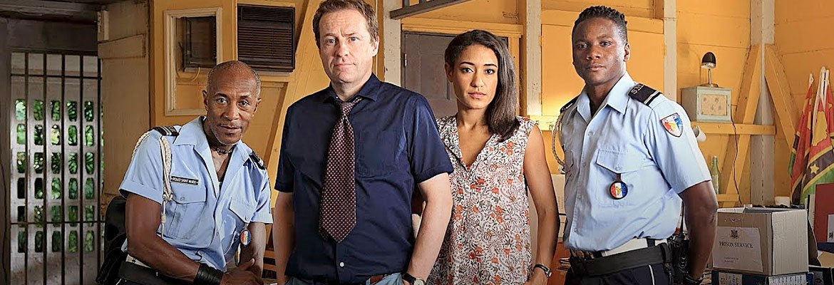 The cast of Death in Paradise.