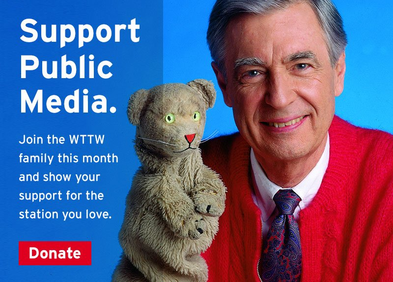 Pledge to support WTTW!