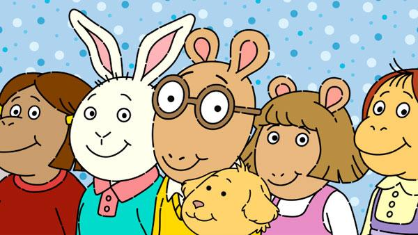 Arthur and his friends.