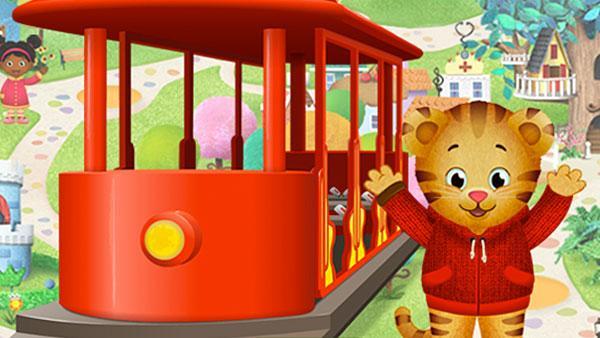 Daniel Tiger and Trolley.