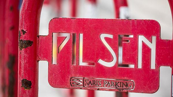 A sign in Pilsen. Photo: Ken Carl