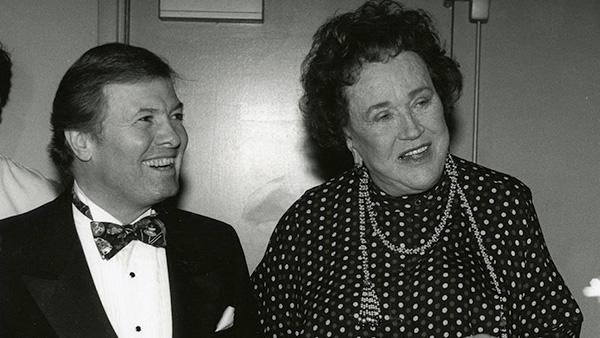 Jacques Pépin and Julia Child, c. 1980s. Photo: Courtesy Jacques Pépin