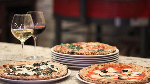 Forno Rosso pizzas