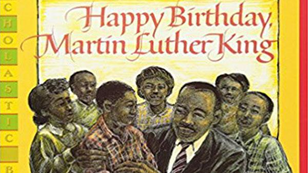 Happy Birthday, Martin Luther King children's book cover