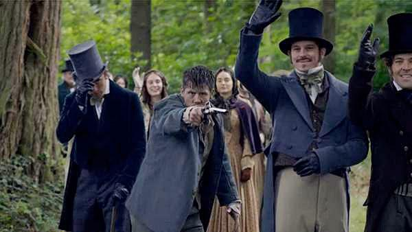 A man tries to assassinate the Queen in Victoria. Image: ITV Studios