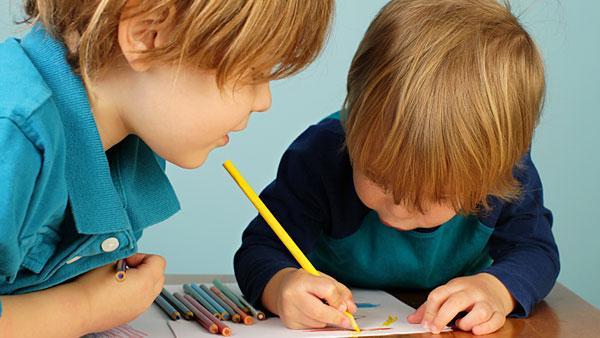 Preschoolers drawing.