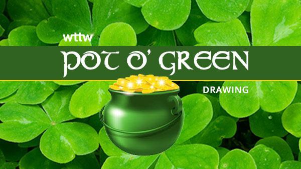 Pot o' Green Drawing.
