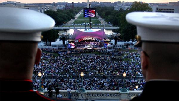 National Memorial Day Concert. Photo: Capitol Concerts
