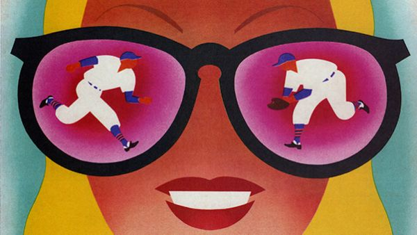A program for the Chicago Cubs from 1953 designed by Dorothy and Otis Shepard