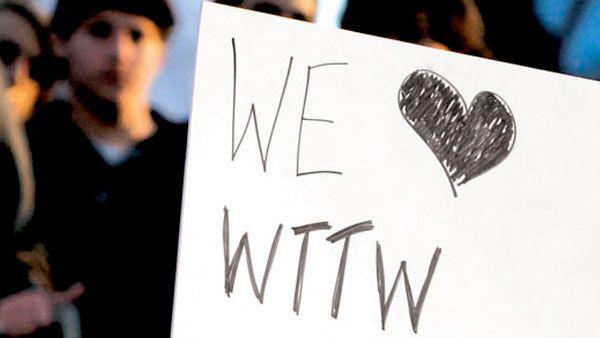 We ♥ WTTW poster