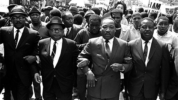 Martin Luther King, Jr. and other civil rights leaders