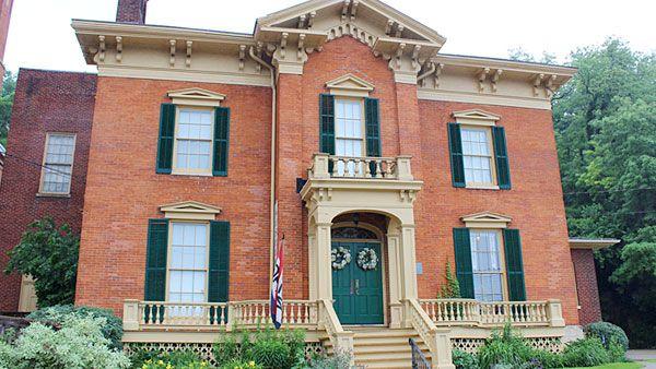 Grant home in Galena.