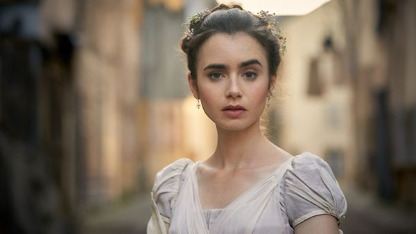 Lily Collins as Fantine in Les Miserables. Photo: Robert Viglasky / Lookout Point