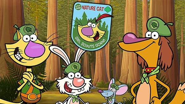 Nature Cat Explorer Patch