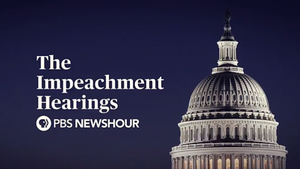 The impeachment hearings