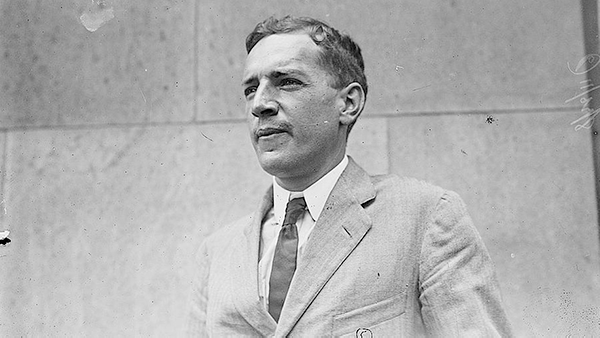 Upton Sinclair was a socialist and a muckraker journalist. Photo: Courtesy of the Library of Congress.