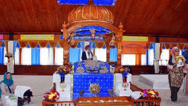 The Sikh gurdwara in Palatine, Illinois. Photo: Courtesy Sikh Religious Society