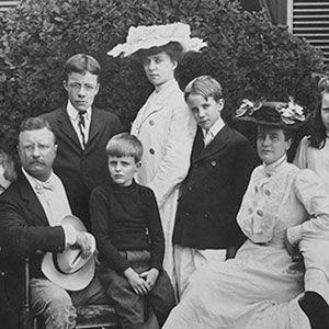 Teddy Roosevelt's family