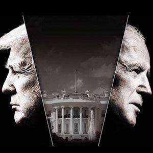 Trump and Biden.