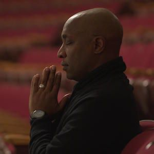 Pastor Mike praying in Mysteries of Mental Illness