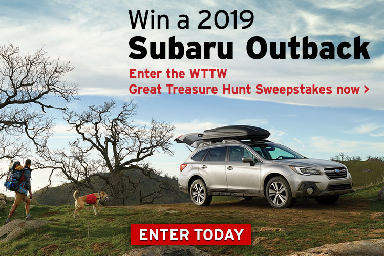 Enter the WTTW Great Treasure Hunt Sweepstakes